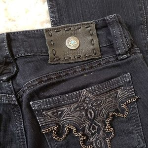 Antik Denim black jeans 24